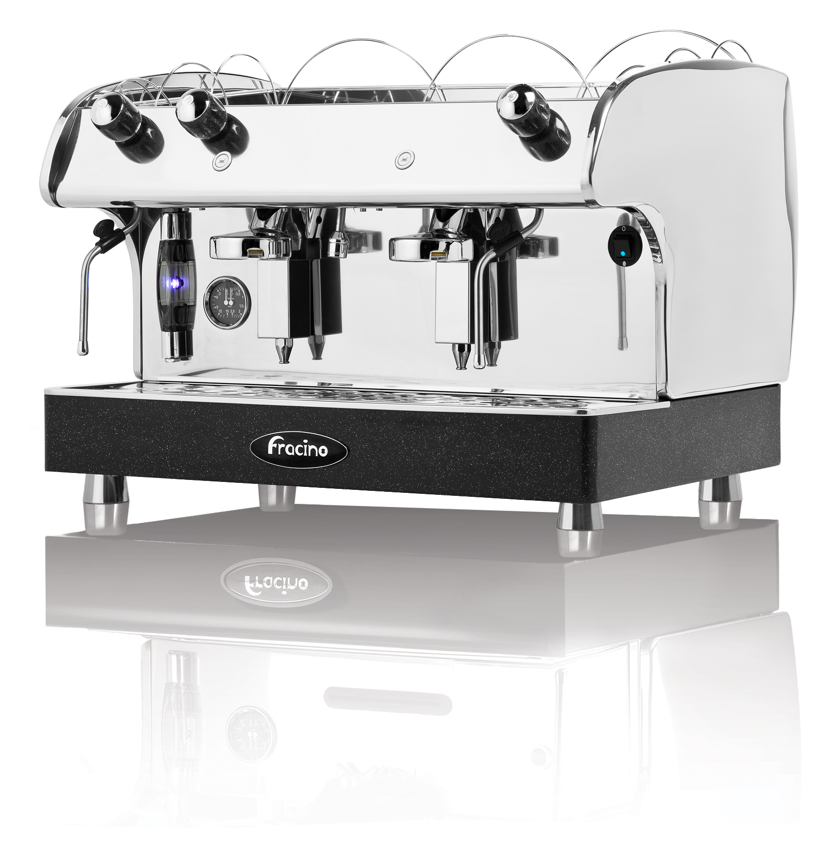 fracino romano coffee machine semi auto 2 group coffitascoffitas. Black Bedroom Furniture Sets. Home Design Ideas