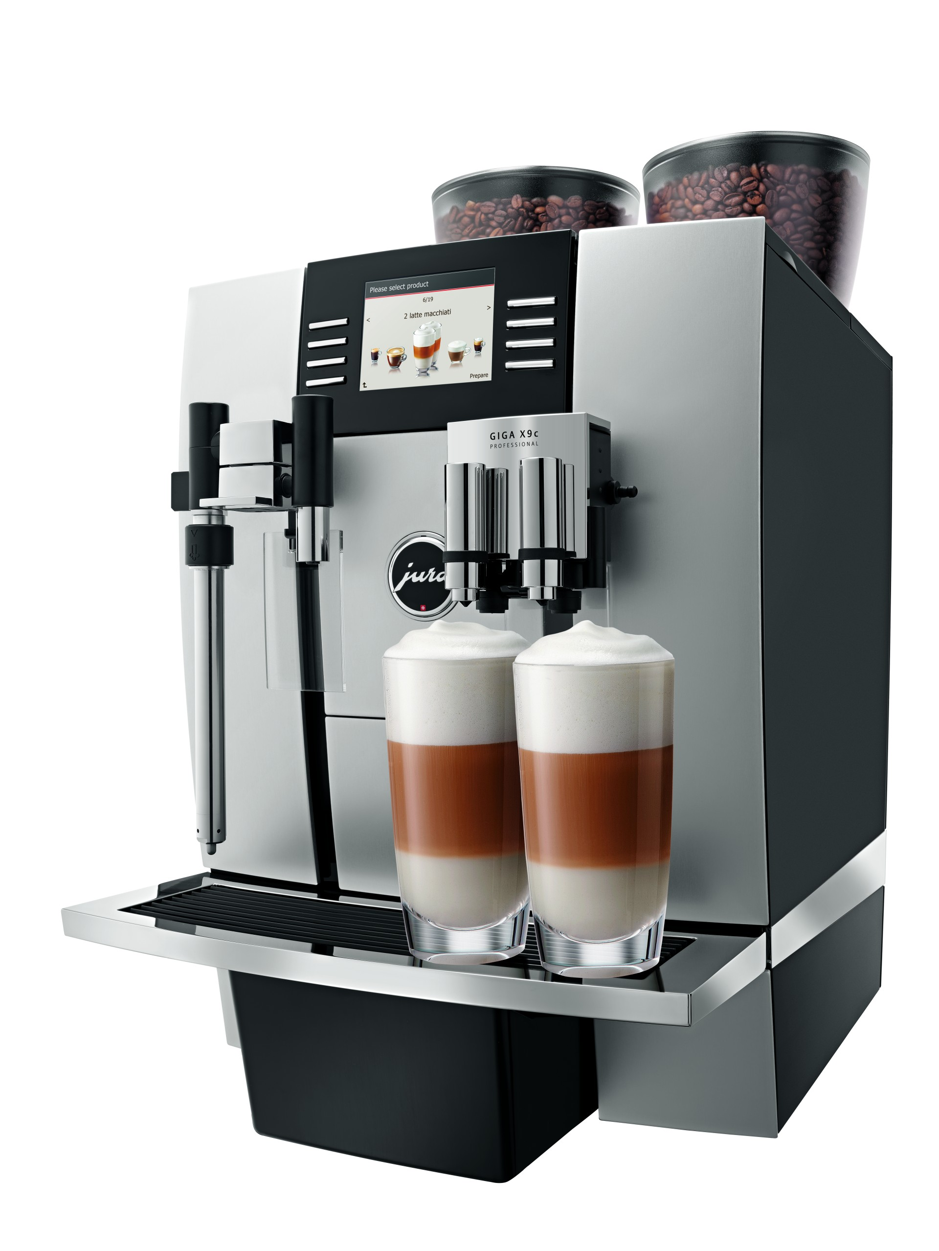 jura giga x9 professional automatic coffee machine coffitascoffitas. Black Bedroom Furniture Sets. Home Design Ideas