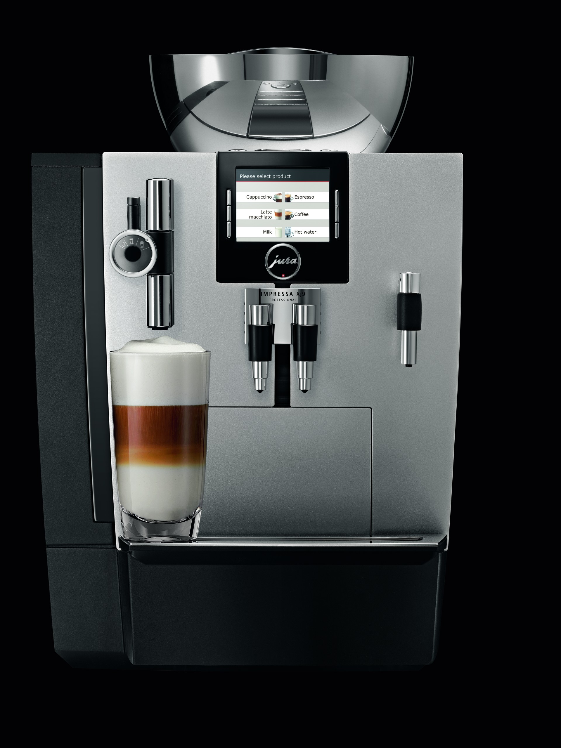 jura xj9 professional automatic coffee machine. Black Bedroom Furniture Sets. Home Design Ideas